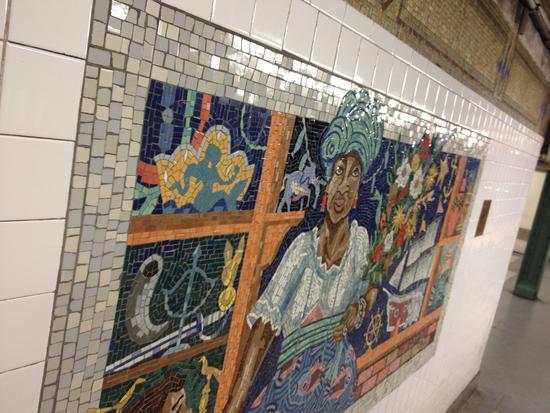 Manuel Vega Haltestelle 110th Street New York