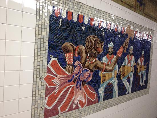 U-Bahn-Kunst in New York