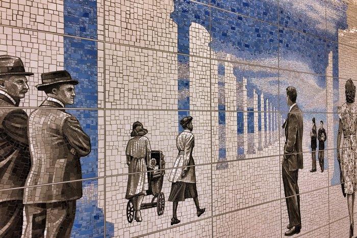 U-Bahn-Kunst Second Avenue Subway Jean Shin