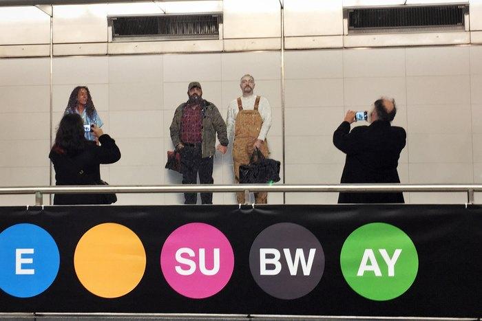 U-Bahn-Kunst 72nd St Linie Q