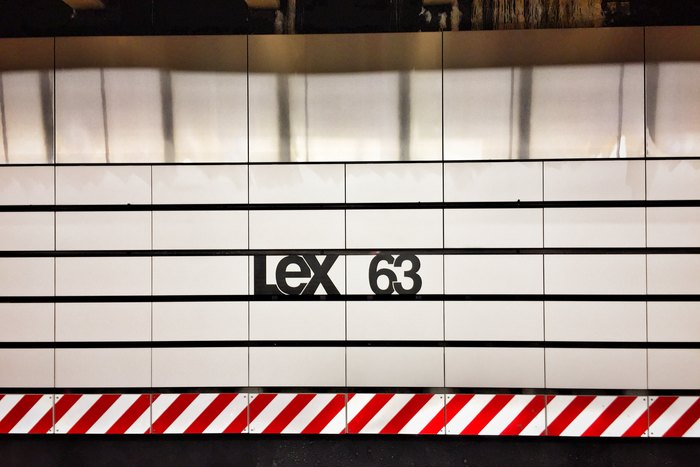 Lex 63 New York U-Bahn
