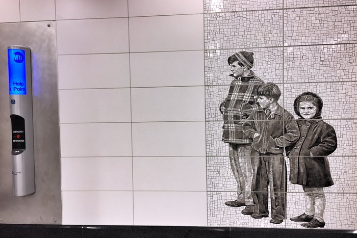 Kunst Second Avenue Subway