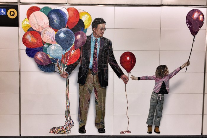Kunst Second Avenue Subway 72nd Street Vik Muniz