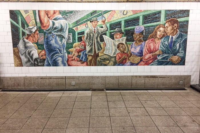 U-Bahn-Kunst 36th Street Owen Smith