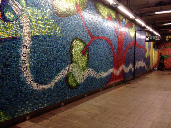 U-Bahn-Kunst 59th Street New York