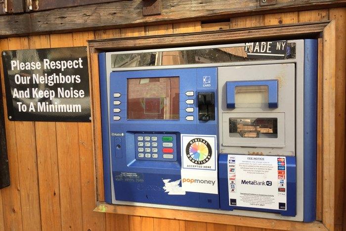 ATM Geldautomat