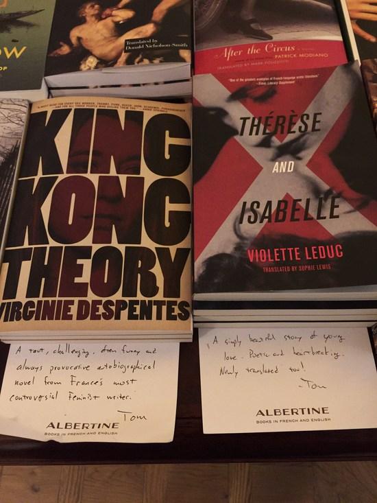 Albertine französischer Buchladen New York