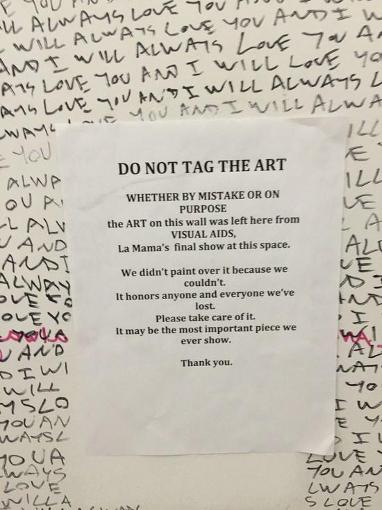 Bitte keine Klosprüche auf die Kunst kritzeln