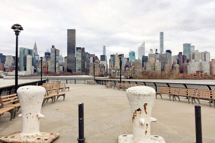 LIC East River 44th Drive Manhattan Skyline