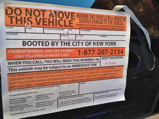 Autokralle Erklärtext New York