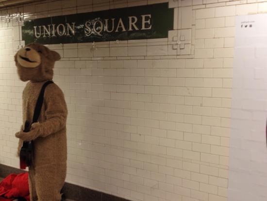 U-Bahn-Musiker in New York
