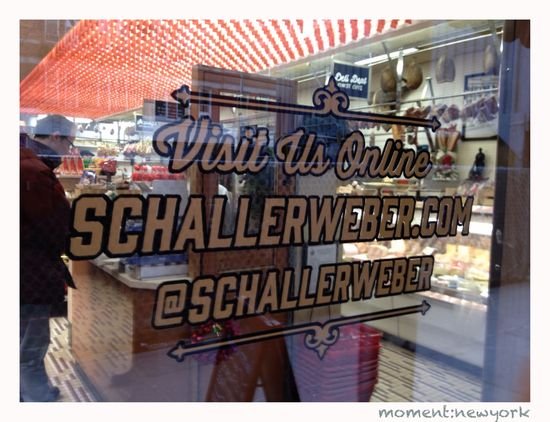 Schaller und Weber in New York