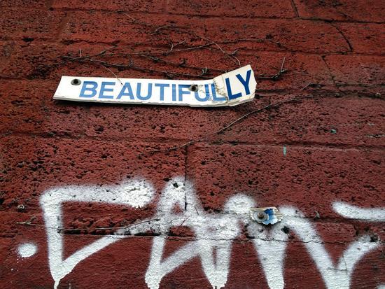 Straßenpoesie in New York
