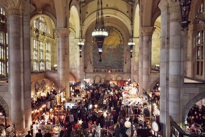 Vorsaison Flohmarkt: Brooklyn Flea im Winterquarter