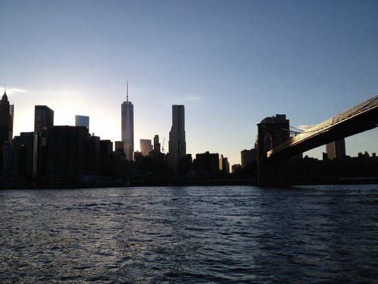 Dumbo Brooklyn Bridge Skyline New York