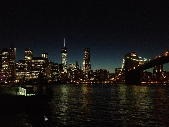 Manhattan Skyline Nacht