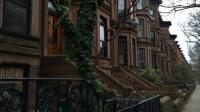 Brownstone Reihenhäuser New York