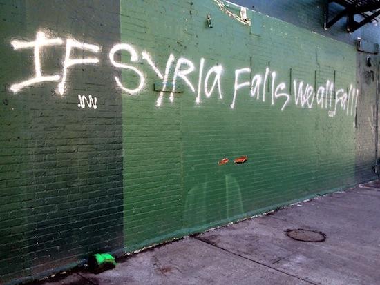 Syrien Streetart New York