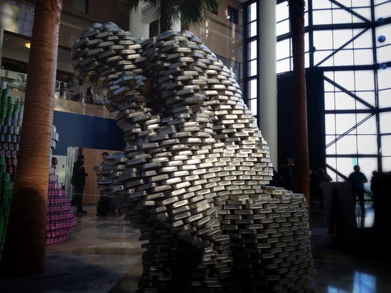 Canstruction Denker