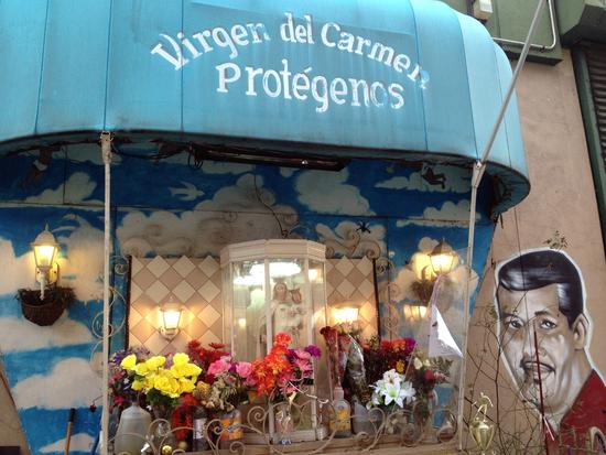 Virgen de Carmen-Schrein in East Harlem