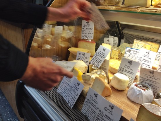 American Cheese bei Saxelby
