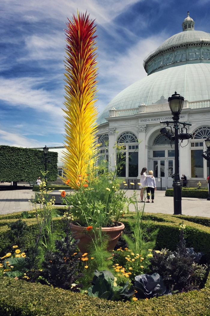Chihuly New York Botanical Garden Glaskunst