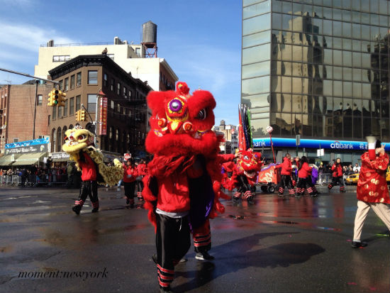 Drache bei der Parade in New York