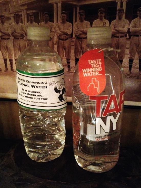 Wasser aus New York