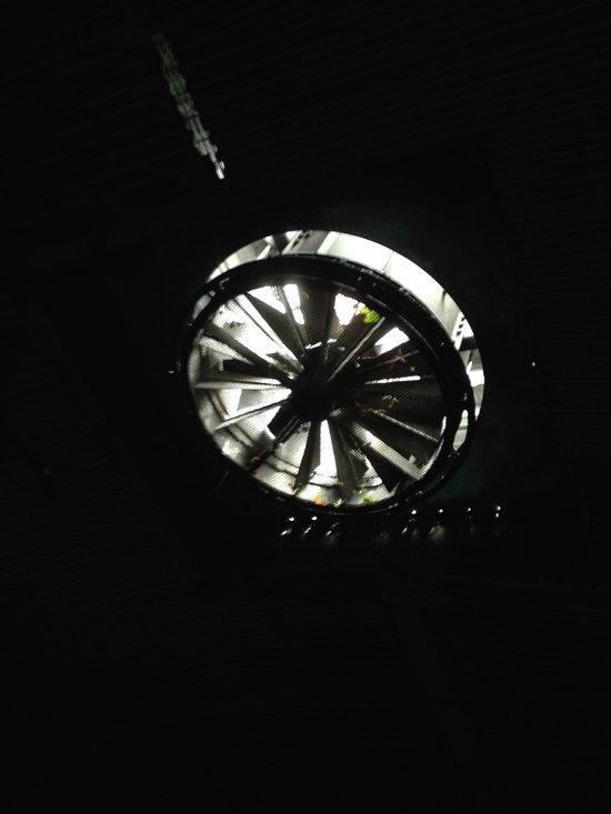 Abluft im Tunnel