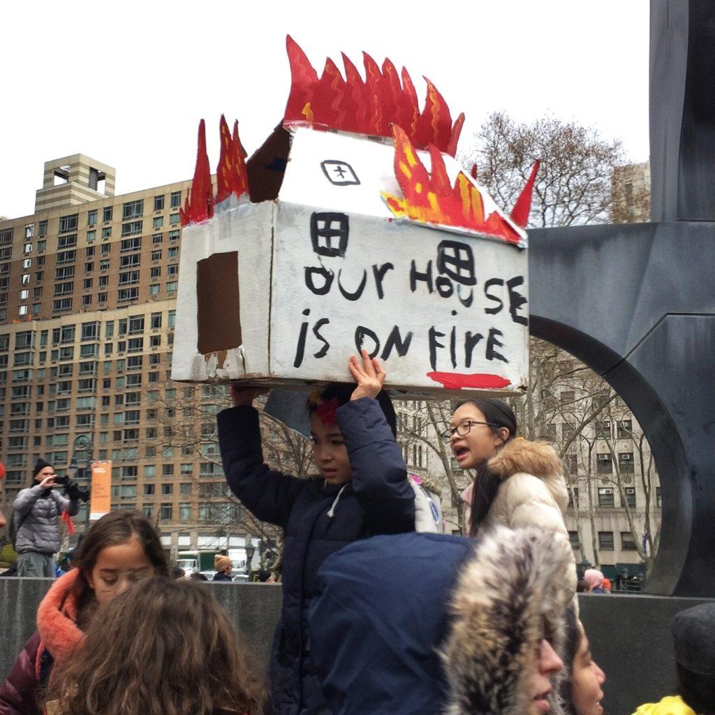 Climate Strike New York Dezember 2019
