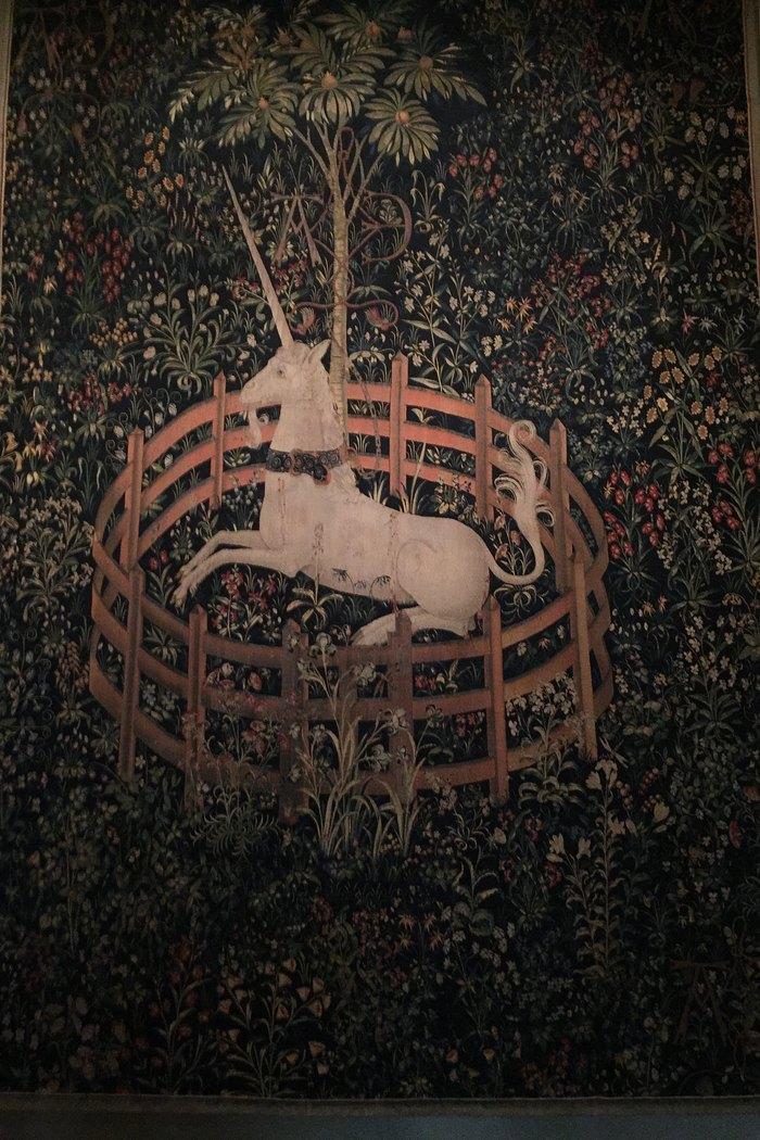 Cloisters Unicorn Tapestry Einhorn