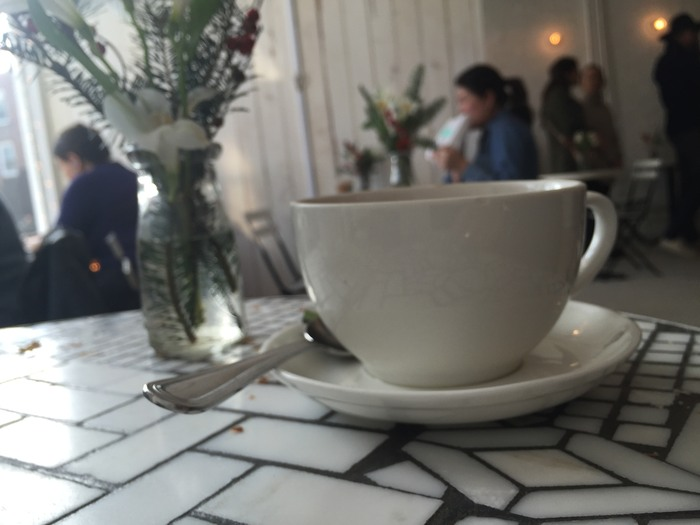 Kaffee im New Yorker Coffeeshop