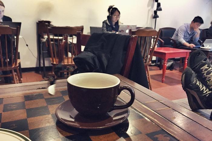 Coffeeshop-Geräusche bei Sounds of NYC