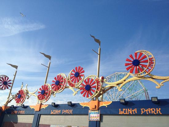 Winterstimmung in Coney Island