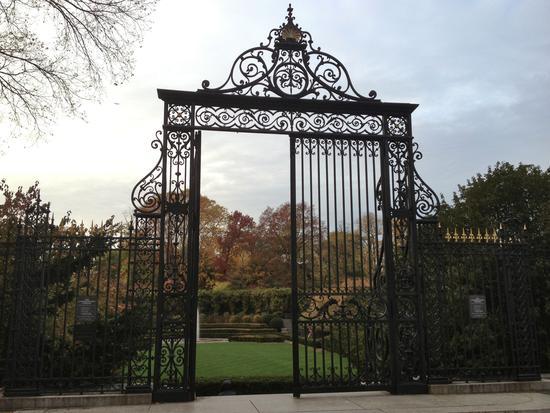 Tor zurm Conservatory Garden im Central Park
