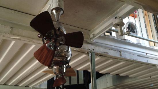 Ventilator im Containerhaus
