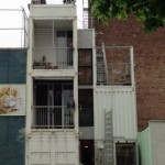 Container als Haus in New York