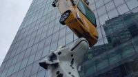 Donald Lipski Spot Dalmatiner Taxi Kunst
