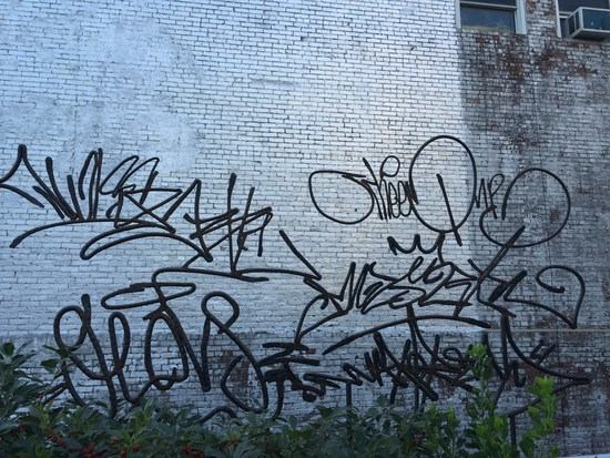 Damian Ortega Graffiti