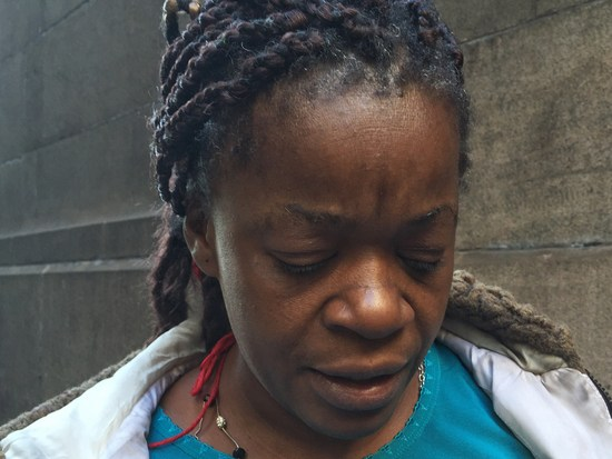 Diane Majett: Obdachlos mit Häkelnadel - Moment: New York