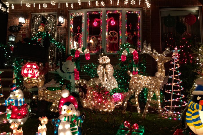 Dyker Heights Weihnachten