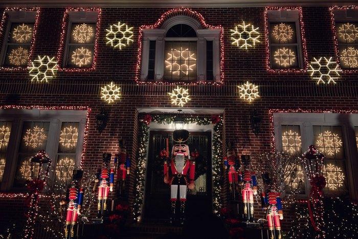 Dyker Heights Weihnachtslichter