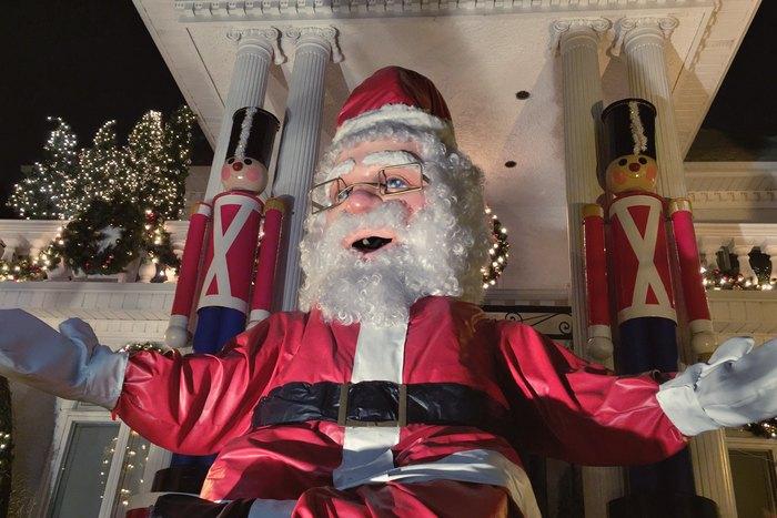 Dyker Heights Weihnachtsmann