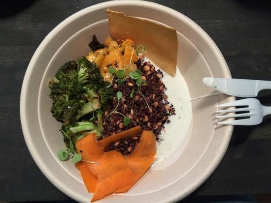 Lunch mit Gemüse