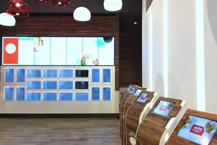 Eatsa Automaten Restaurant New York