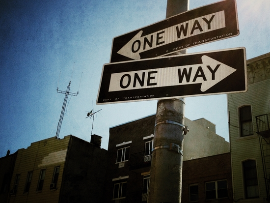 One Way or the other ... in New York