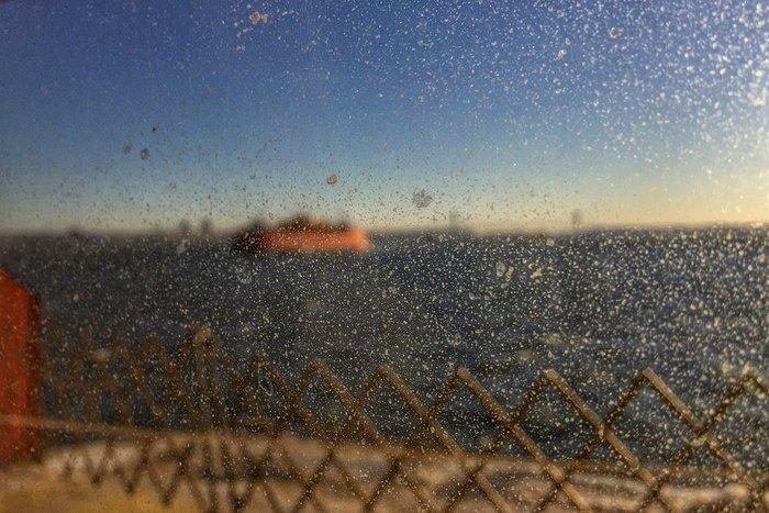 Winter 2018 Eis Hafen