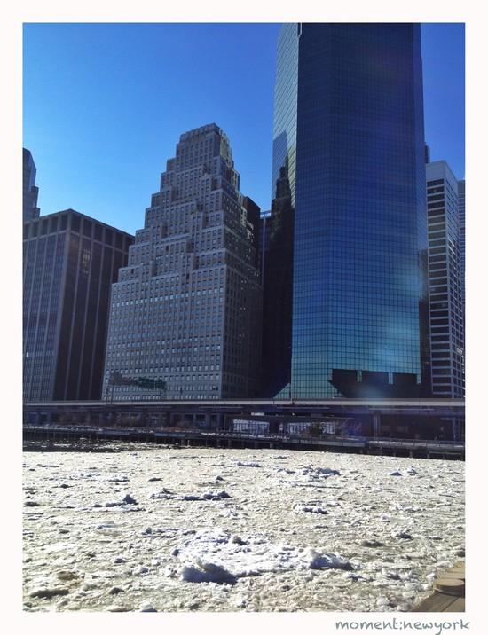 New York gefroren