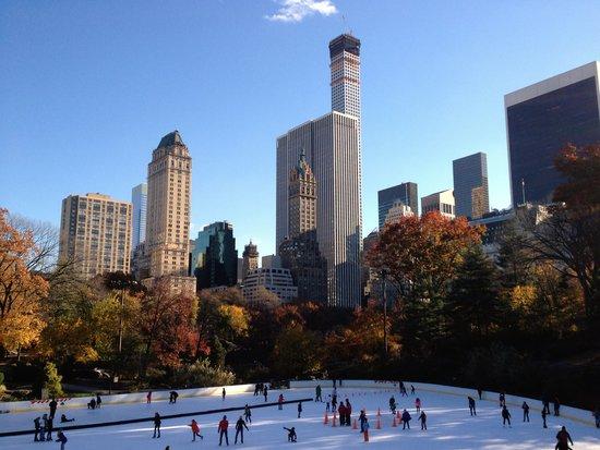 Eisbahn im Central Park: Wollman Rink
