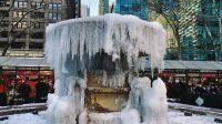 Eisbrunnen Bryant Park 2018